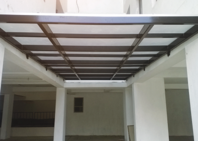 structural steel fabrication using multiwall